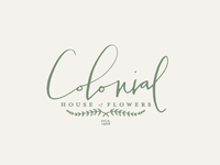Colonial House Of Flowers