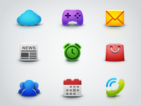 "Icons for app ""Everfriends"""