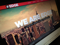 EDGE website