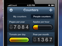Counters App - Dashboard