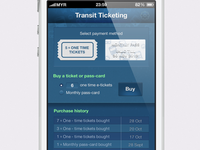 ticketing app WIP