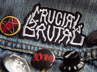 Crucial Embroidered Patch