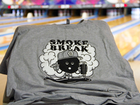 Smoke Break Screen Printed T-Shirt