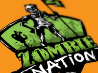Zombie Nation - tshirt graphic