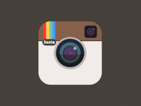 Simple Instagram Icon