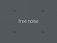 Free Noise Patterns