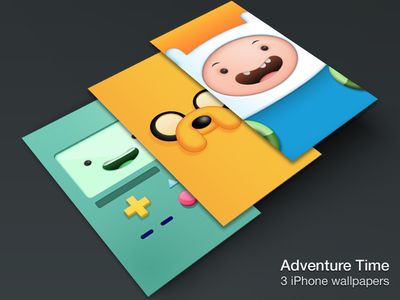 Download Adventure Time iPhone Wallpapers