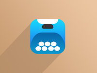 iOS7 Typewriter