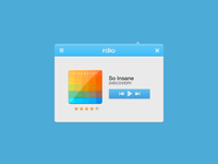 Rdio Mini Player