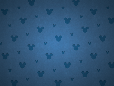 Blue Mickey Pattern
