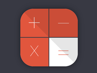 Calculator App Icon [CSS]