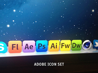 Adobe Icon Set