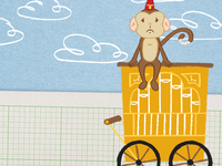 The Organ Grinder Monkey Blues
