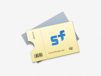 Sourceforge Ticket Icon