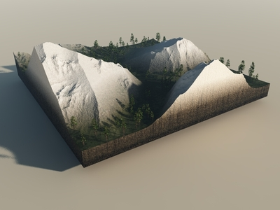 Landscape Test with Trees