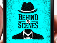Behind the scenes logo