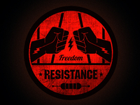 Resistance Logo Badge