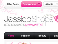 Shopping Blog Design