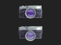 Low Poly Camera Icon Rebound