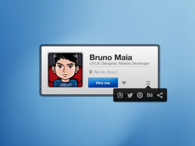 Download Profile Widget