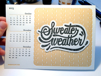 Sweater Weather print