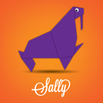 Sally the Sea Lion - Origami