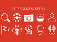 Typebat Icon Set V1