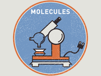 Molecules Badge