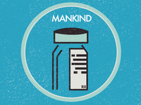 Mankind Badge