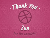 Thanks to Zan