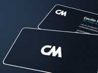 Business Card Cm Design Studio