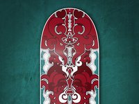 Abstract Skate Decks