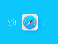 Call it Sfr for iOS7