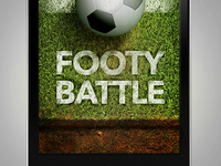 App Welcome Footy Battle
