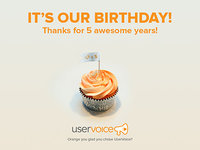UserVoice Turns 5!