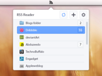 Mini RSS Reader app