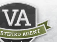 VA Certified Agent Patch