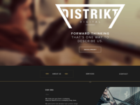 Distrikt agency website