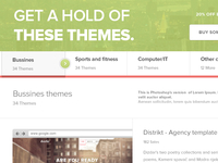 Themes page - Themeshop
