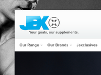 Jex Fitness Website Header
