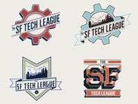 SF Tech League logo concepts