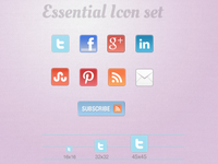 Essential Icon Set