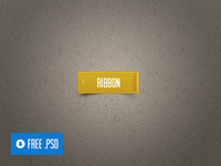 Freebie PSD: Ribbon