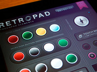 Retropad - Touch User Interinterface