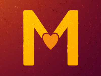 dribbble m love by kevin ohlin m love 400x300