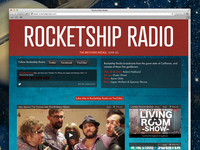 Rocketship Radio Redesign