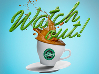 Watch out! Coffee Render