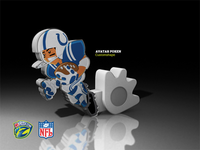Poken - NFL Rushzone