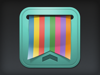iOS App Icon Design: Noddler