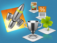 Mighty Apps & Power Promos – Icon Design
